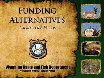 September 06, 2012 5:00 pm - Wyoming Game & Fish Department