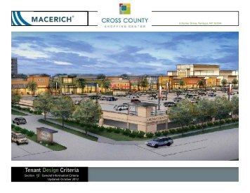 Tenant Design Criteria - Macerich