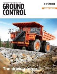 GROUND The Magazine Of Hitachi Construction Machinery (Europe