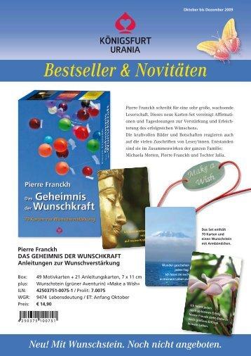 Bestseller & Novitäten - Königsfurt-Urania Verlag