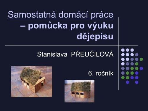 Pozdně neolitické hospodářské stavení