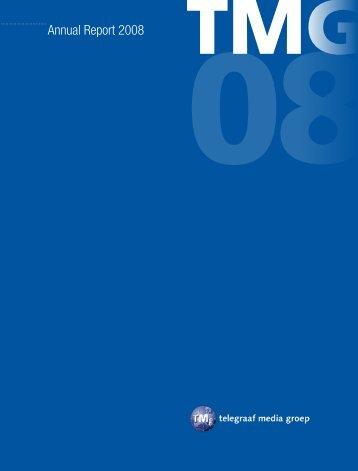 Annual Report 2008 - TMG corporate