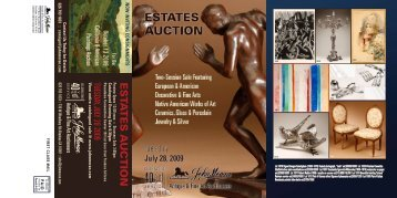 2009View entire catalogued sale @ www - John Moran Auctioneers