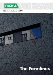 The Formliner. - RECKLI GmbH: Home