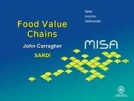 SARDI Food Value Chain (.PDF) - MISA
