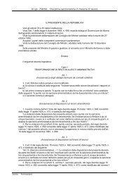 D.Lgs. 758/94 – Disciplina sanzionatoria in materia di lavoro IL ...
