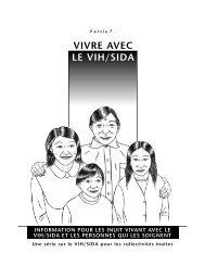 VIVRE AVEC LE VIH/SIDA - Pauktuutit