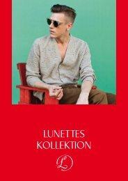 Lunettes Kollektion Lookbook 2012