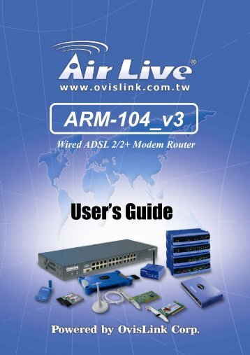 Air Live ARM-104 Drivers for PC