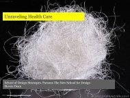 Unraveling Health Care - G51 Studio