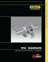 HEAVY DUTY LOCKS – LEVERS - Best Access Systems