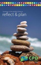 reflect & plan