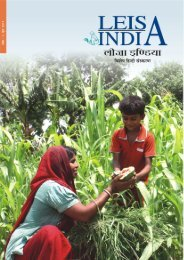 Text Matter LEISA (HINDI) final June 2011 - Leisa India