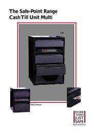 The Safe-Point Range Cash Till Unit Multi - SMP