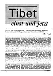 Heft 21 Tibet & Buddhismus