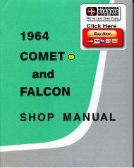 DEMO - 1964 Comet and Falcon Shop Manual - ForelPublishing.com