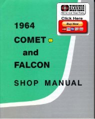 DEMO - 1964 Comet and Falcon Shop Manual - ForelPublishing.com