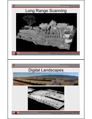 Long range systems - Center for Advanced Spatial Technologies