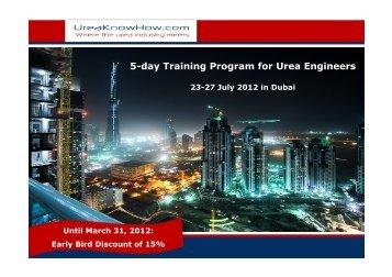 Urea Training 2012.pdf - UreaKnowHow.com