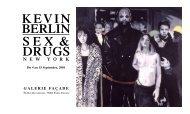 kevin Berlin sex & drugs new Y ork