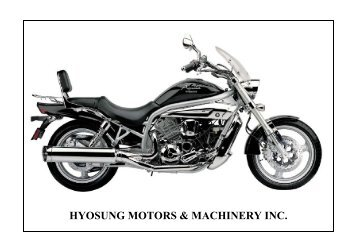 HYOSUNG MOTORS & MACHINER
