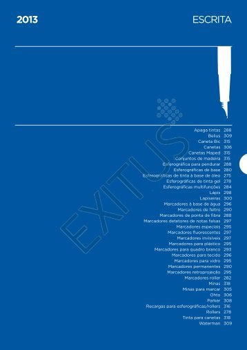 ESCRITA 2013 - Exitus