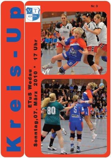 Die Tabelle in der Frauen-Regionalliga
