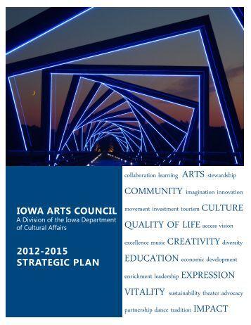 2012-2015 Strategic Plan - Iowa Arts Council
