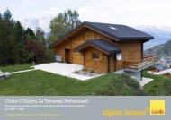 Chalet L'Aiglon, La Tzoumaz, Switzerland - Ski chalets for sale