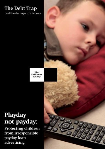 Playday not payday - Debt Trap Report