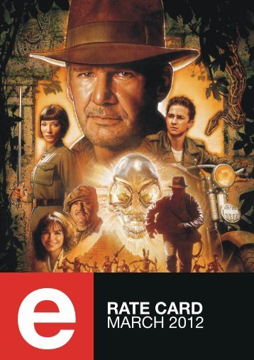 Rate card march 2012 - eTV