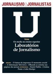 Laboratórios de Jornalismo - Clube de Jornalistas
