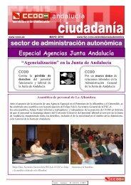 Boletín formativo sobre la Reordenación del Sector Público - CCOO