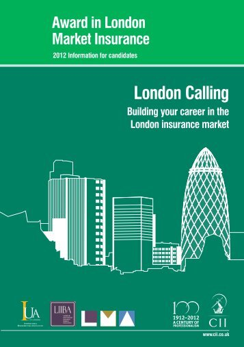 London Calling - The Chartered Insurance Institute