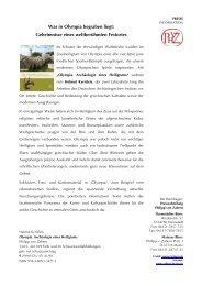Pressetext - Verlag Philipp von Zabern