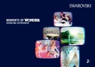 MOMENTS OF WONDER - Swarovski Kristallwelten