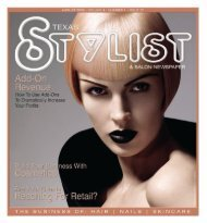 august 009 - Stylist and Salon Newspapers
