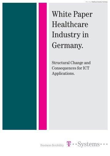 White Paper Healthcare Industry in Germany.