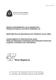 Série Registros - Instituto Florestal