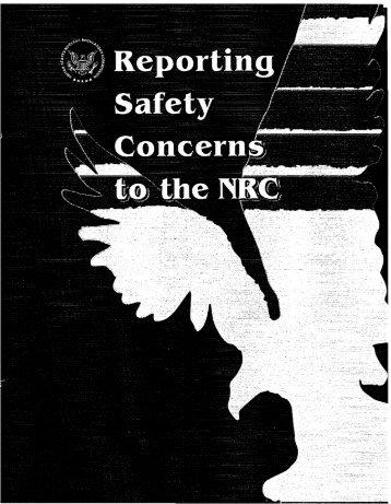 Confidentiality - NRC