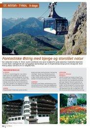 Fantastiske Østrig med bjerge og storslået natur - NILLES REJSER ...