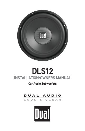 90 free magazines from dualav installationowners manual dls12 dual electronics publicscrutiny Images