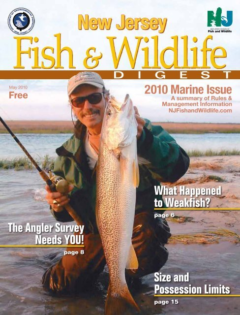 Complete 2010 Marine Issue of the Fish and Wildlife DIGEST