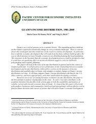 Guam's Income Distribution