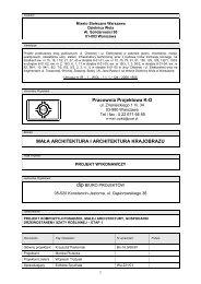 Pracownia Projektowa K-D MAŁA ARCHITEKTURA I ... - SISKOM
