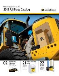 2013 Fall Parts Catalog - Plasterer Equipment Company