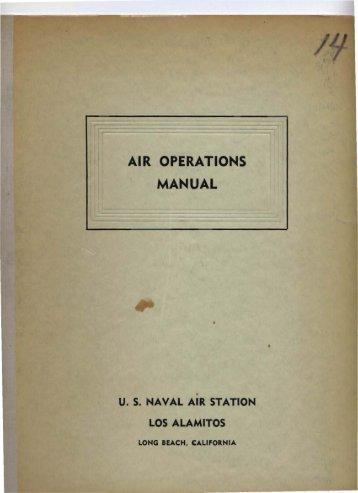 AIR OPERATIONS MANUAL