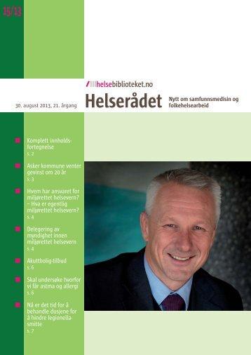 Les omtale av Askers folkehelsesatsning i ... - Asker kommune