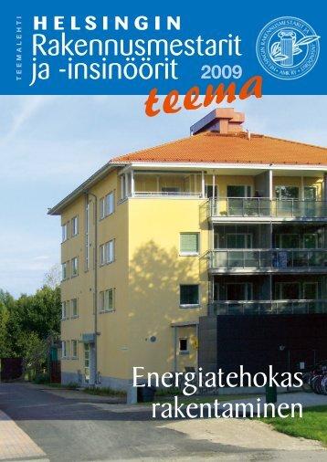 Yhdistyksen teemalehti 2009, PDF tiedosto - Helsingin ...