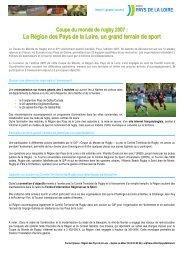 Rugby. La convention coupe du monde signée au - Conseil ...